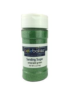 CK Products Sanding Sugar Emerald Green, 4 Oz.