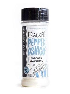 Urban Accents Asiago & Cracked Pepper Popcorn Seasoning