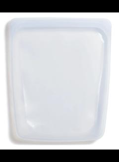 Stasher Silicone Reusable 1/2 Gallon Bag: Clear