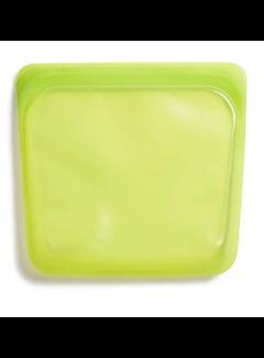 Stasher Silicone Reusable Sandwich Bag: Lime