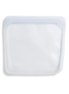 Stasher Silicone Reusable Sandwich Bag: Clear