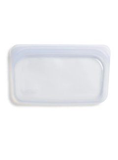 Stasher Silicone Reusable Snack Bag: Clear