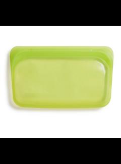 Stasher Silicone Reusable Snack Bag: Lime