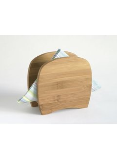 Lipper Bamboo Napkin Holder