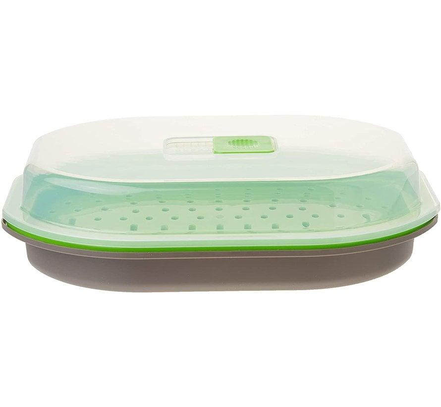 Microwave Fish & Vegetable Steamer