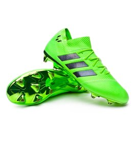 Adidas Adidas NEMEZIZ MESSI 18.1 FG Cleats (Solar Green/Core Black/Solar Green)