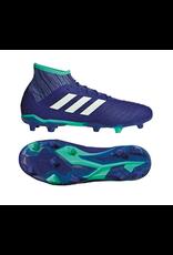 Adidas Adidas PREDATOR 18.2 FG Cleats (Unity Ink/Aero Green/Hi-Res Green)