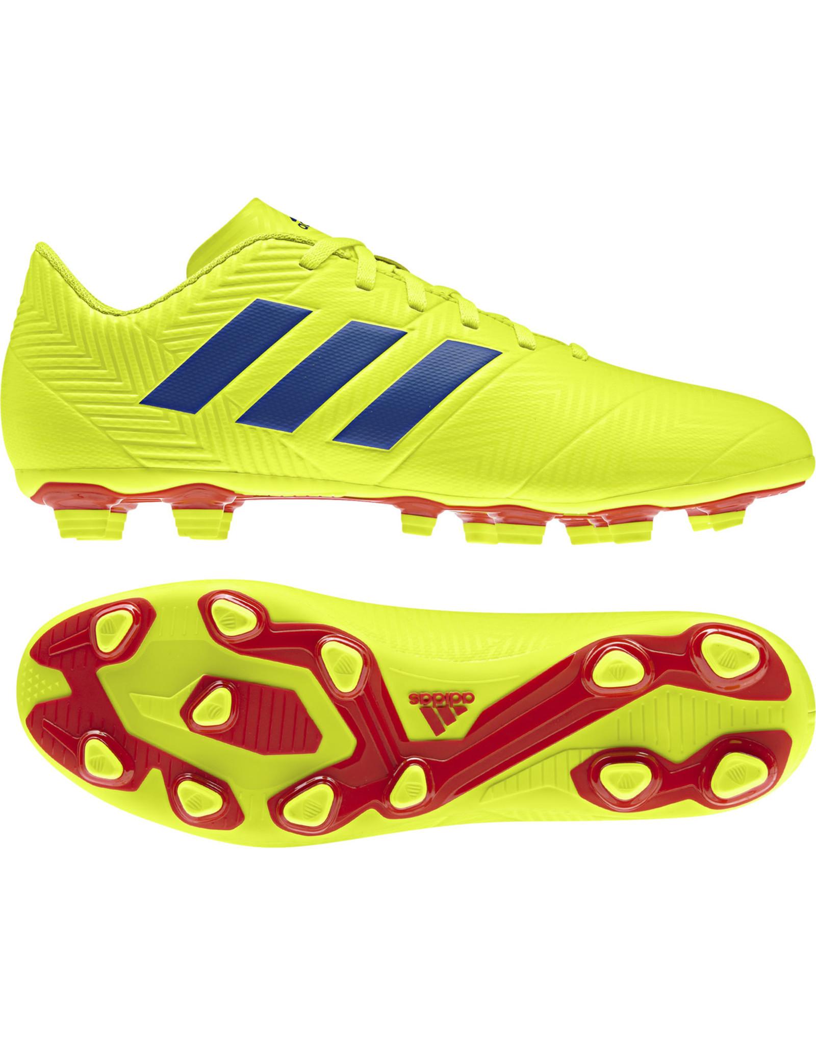 Adidas ADI NEMEZIZ 18.4 FxG (Solar Yellow/Football Blue/Active Red)
