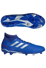 Adidas Adidas PREDATOR 19.3 FG Cleats (Bold Blue/Silver Metallic/Active Red)