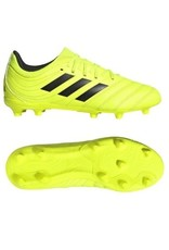 Adidas Adidas COPA 19.3 FG Junior Cleats (Solar Yellow/Core Black/Solar Yellow)