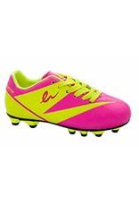 Eletto Eletto LNA-090 TPR Junior Cleats (Neon Pink/Neon Yellow)