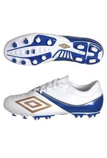 Umbro Umbro ST 11 Pro Leather-A HG Cleats (White/Bronze/Speed Blue)