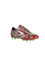 Umbro Umbro Geo Flare Club HG Cleats (Jazzy/Silver/Grape/Green Gecko/Black)
