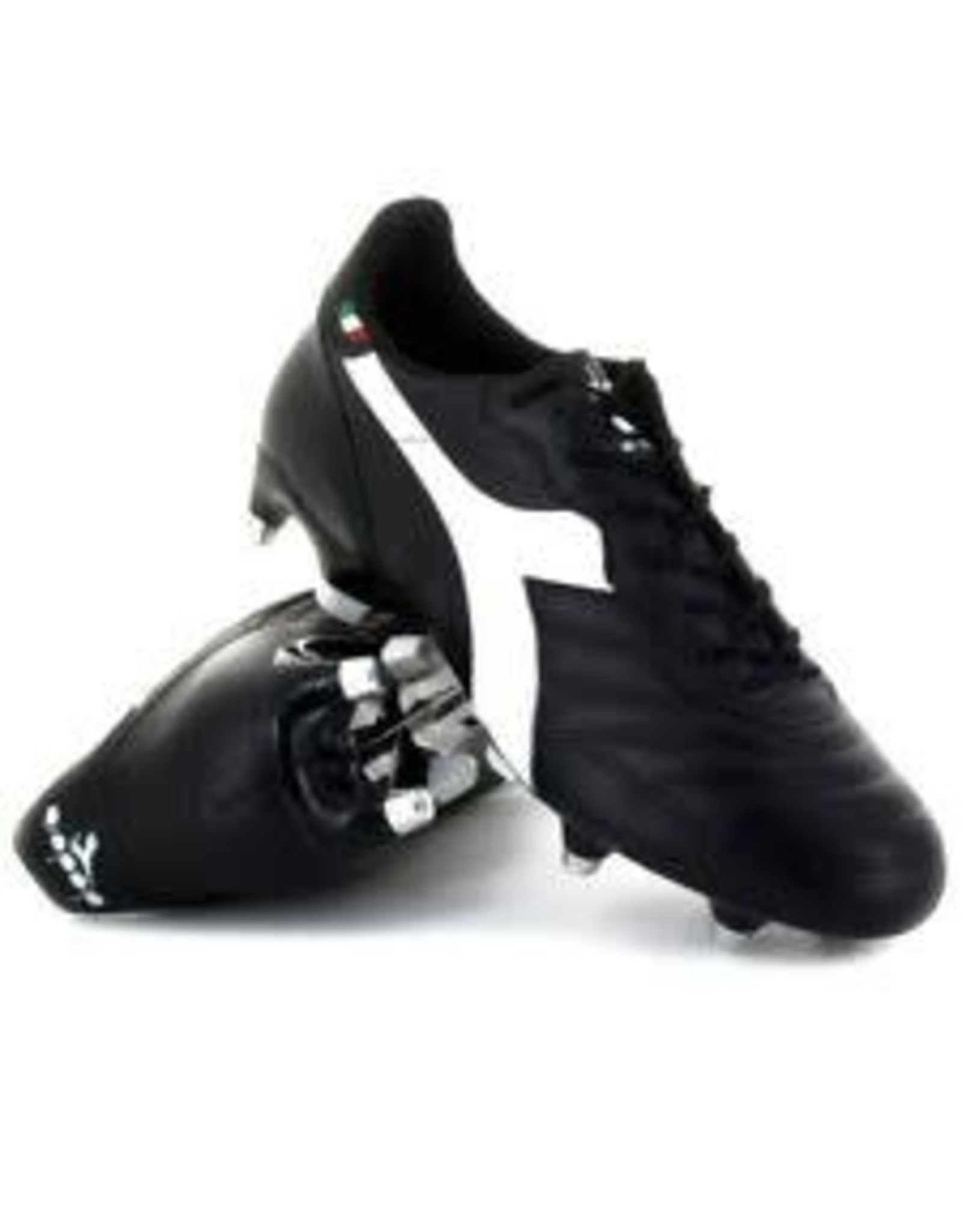Diadora Diadora 650 III MDPU Cleats (Black/White)