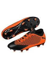 Puma Puma FUTURE 2.4 FG/AG Cleats (Puma Black/Shocking Orange)