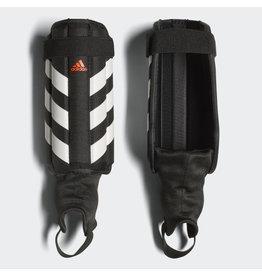 Adidas Adidas Evertomic Shin Guards (Black/White/Solar Red)