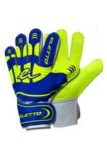 Eletto Eletto Goalkeeper Gloves Flip III Flat (Brilliant Blue/Neon Yellow)