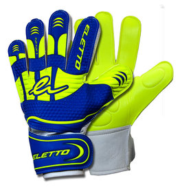 Eletto Eletto Goalkeeper Gloves Flip III Flat (Brilliant Blue/Neon Yellow)