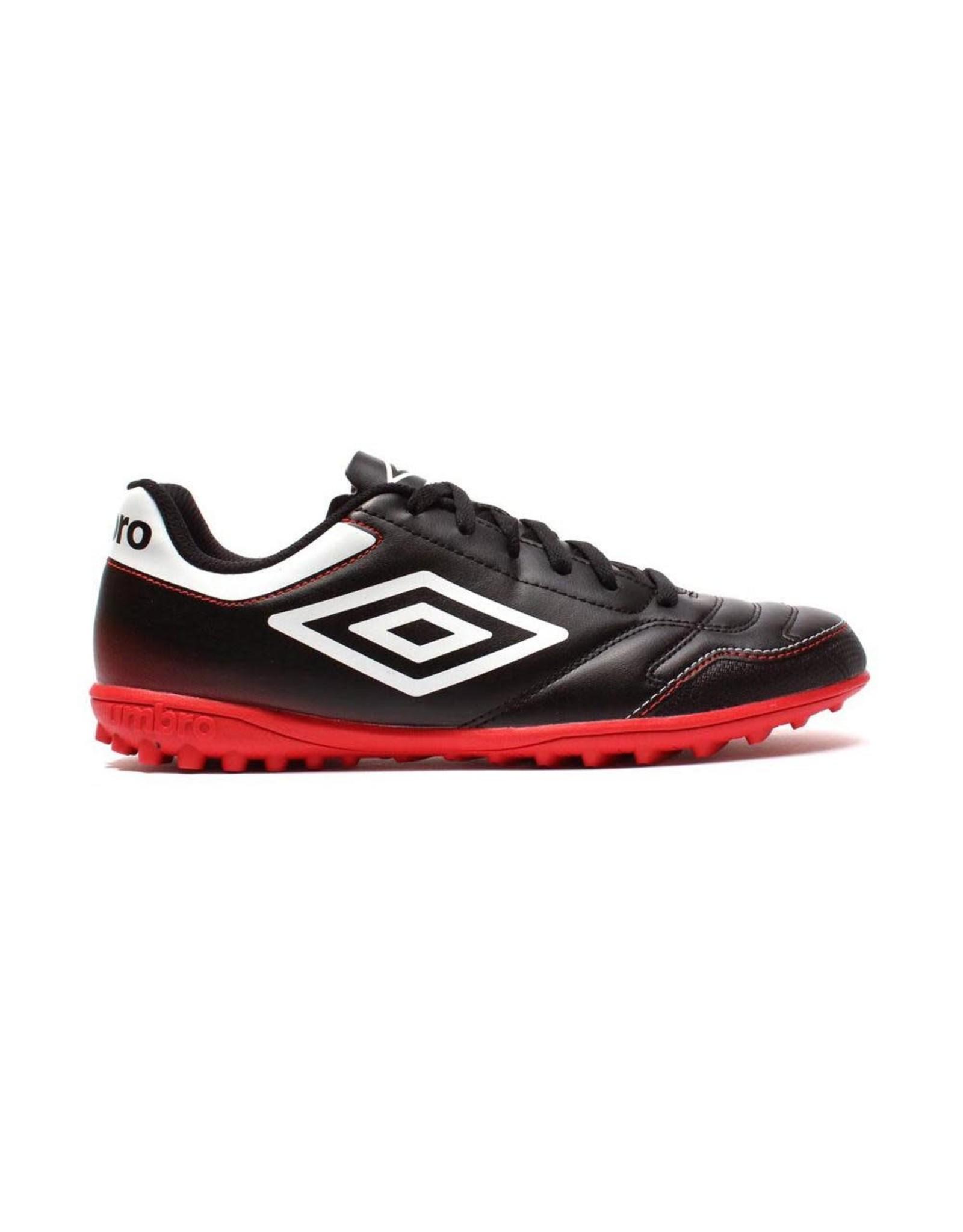 Umbro Umbro Classico 4 TF Junior Shoes (Black/White/Vermillion)