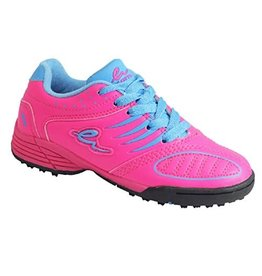 Eletto Eletto Mondo Junior Turf Shoes (Neon Pink/Neon Blue)
