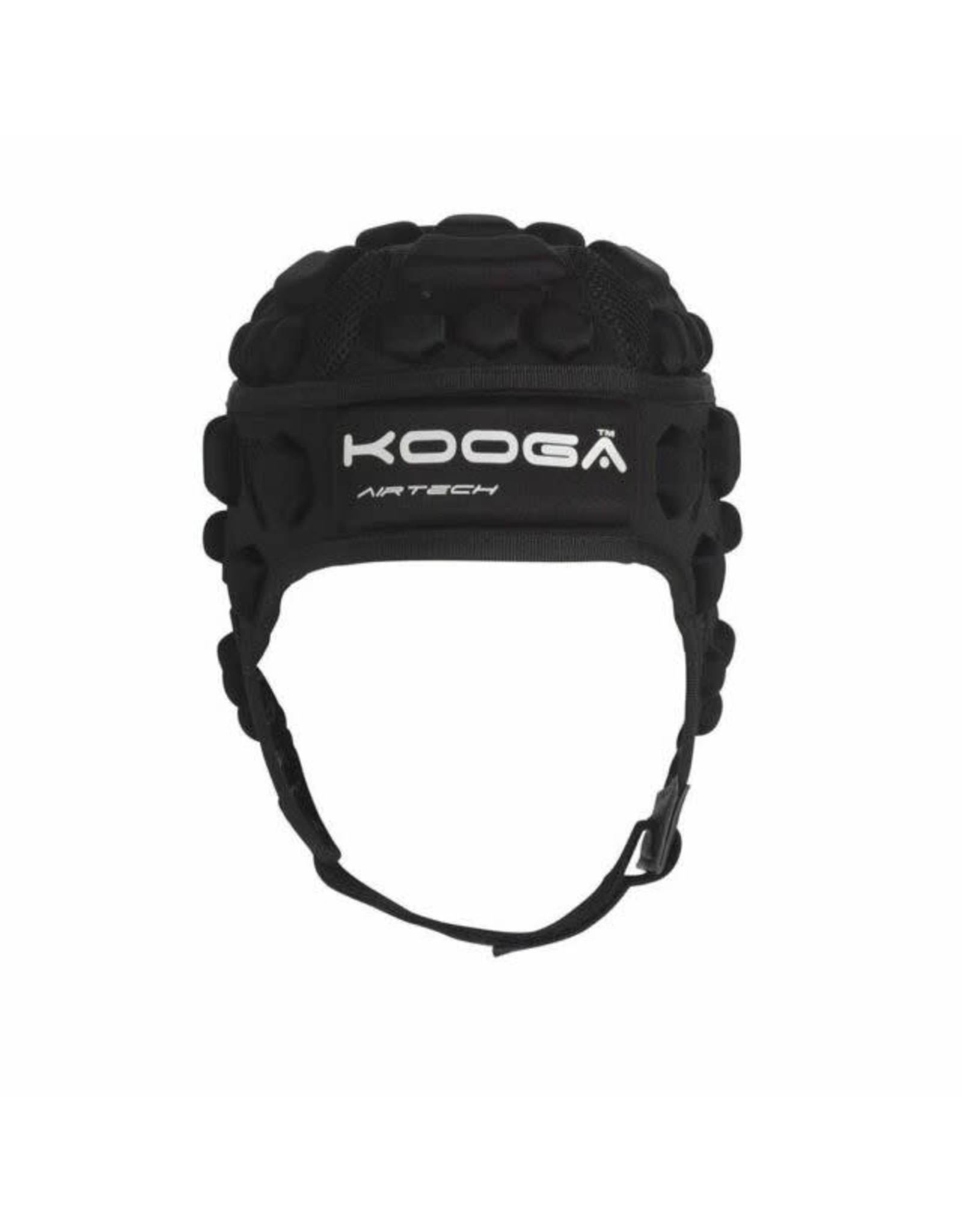 Kooga Kooga Dunedin Airtech Phase 1 Adults Black Headguard (Large)