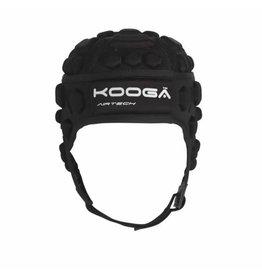 Kooga Kooga Dunedin Airtech Phase 1 Adults Black Headguard (Large)