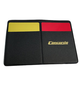 Concorde Refree Wallet (Warning Cards/Game Sheets)