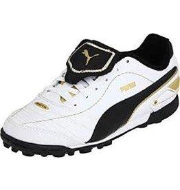 Puma Puma Esito XL TT Junior Shoes (White/New Navy/Team Gold)
