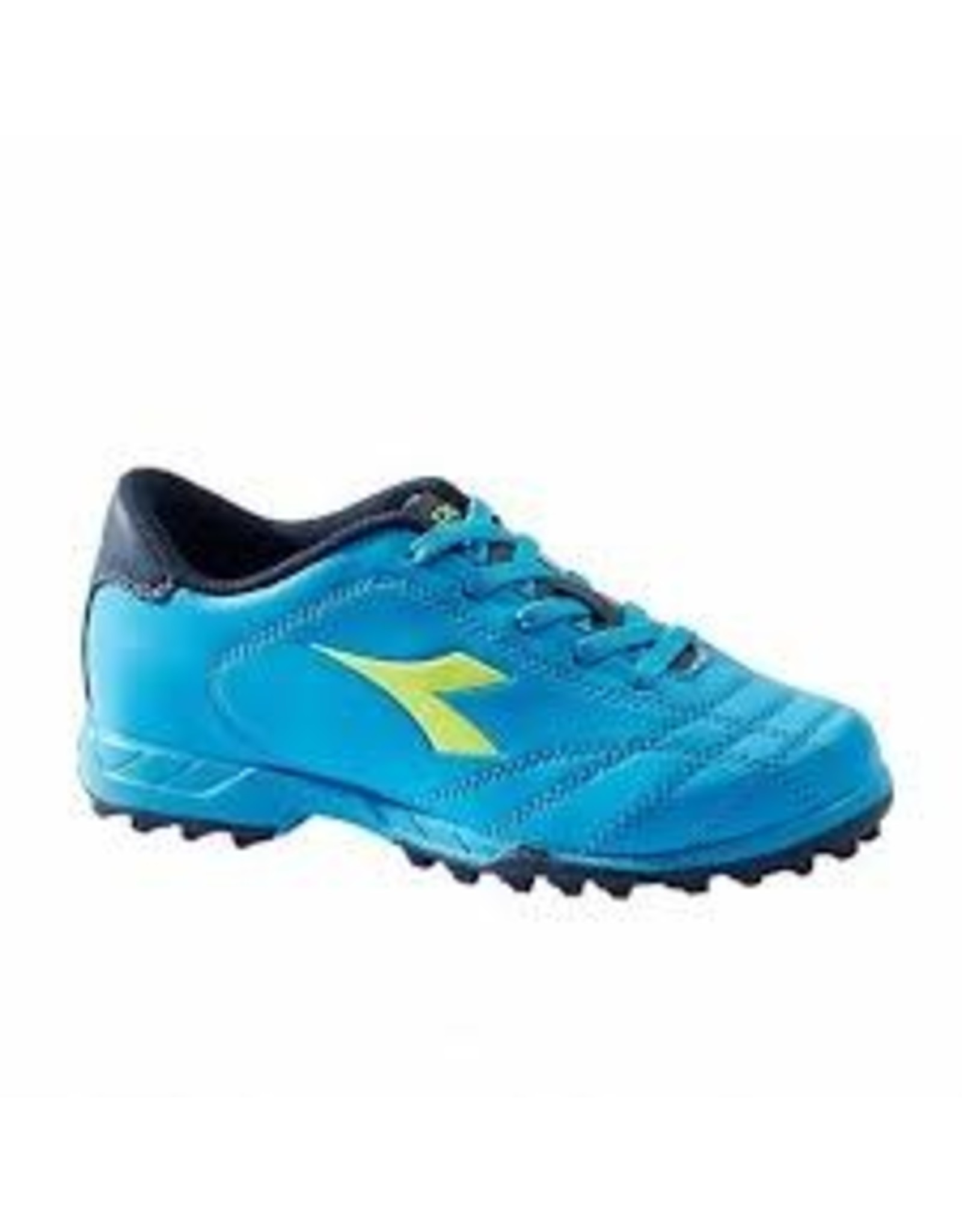 Diadora Diadora 6PLAY TF Junior Shoes (Blue Fluo/Yellow Fluo)