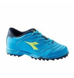 Diadora Diadora 6PLAY TF Junior Shoes (Blue Fluo/Yellow Fluo)