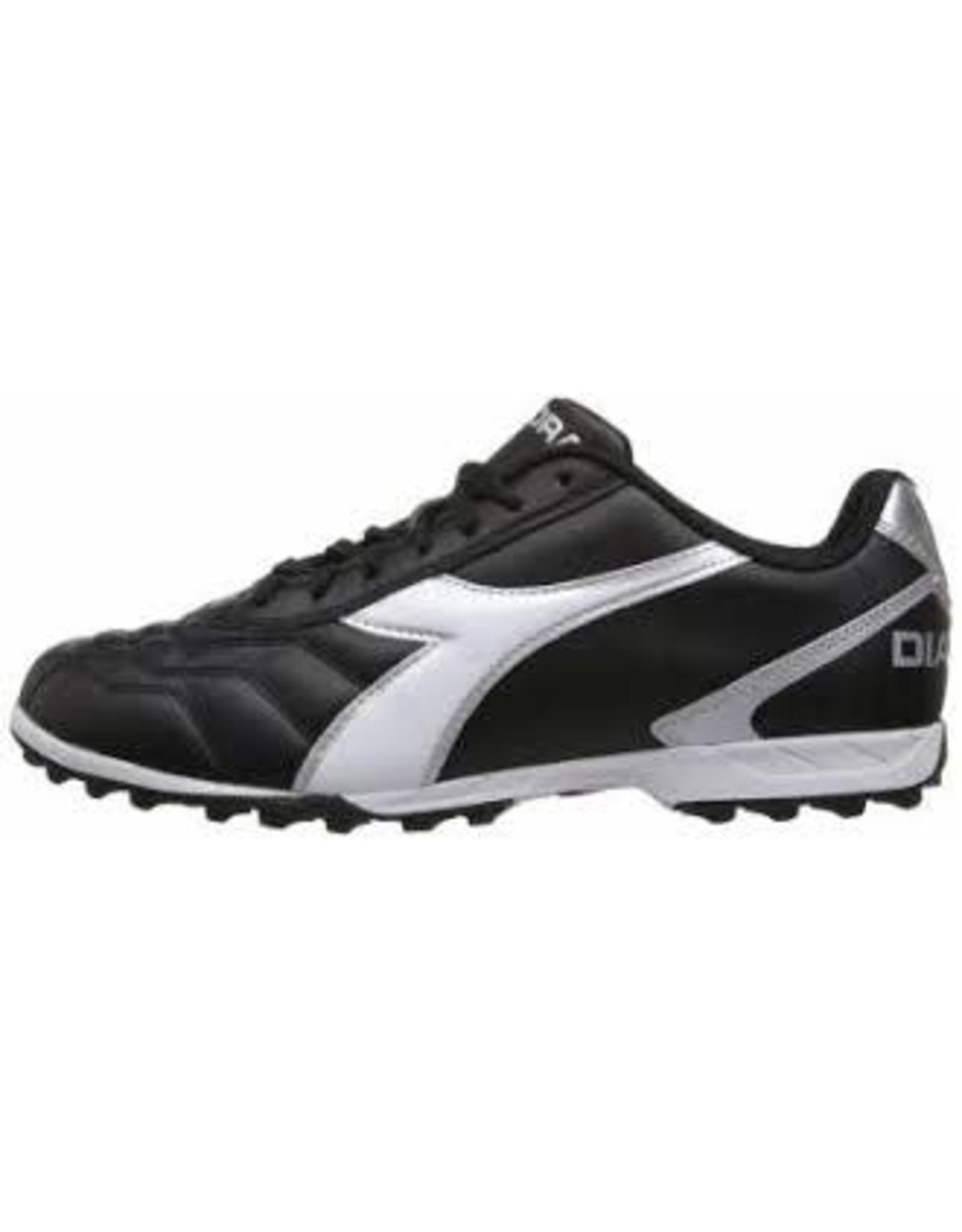 Diadora Diadora Clasico Aris TF Junior Shoes (Black/White)