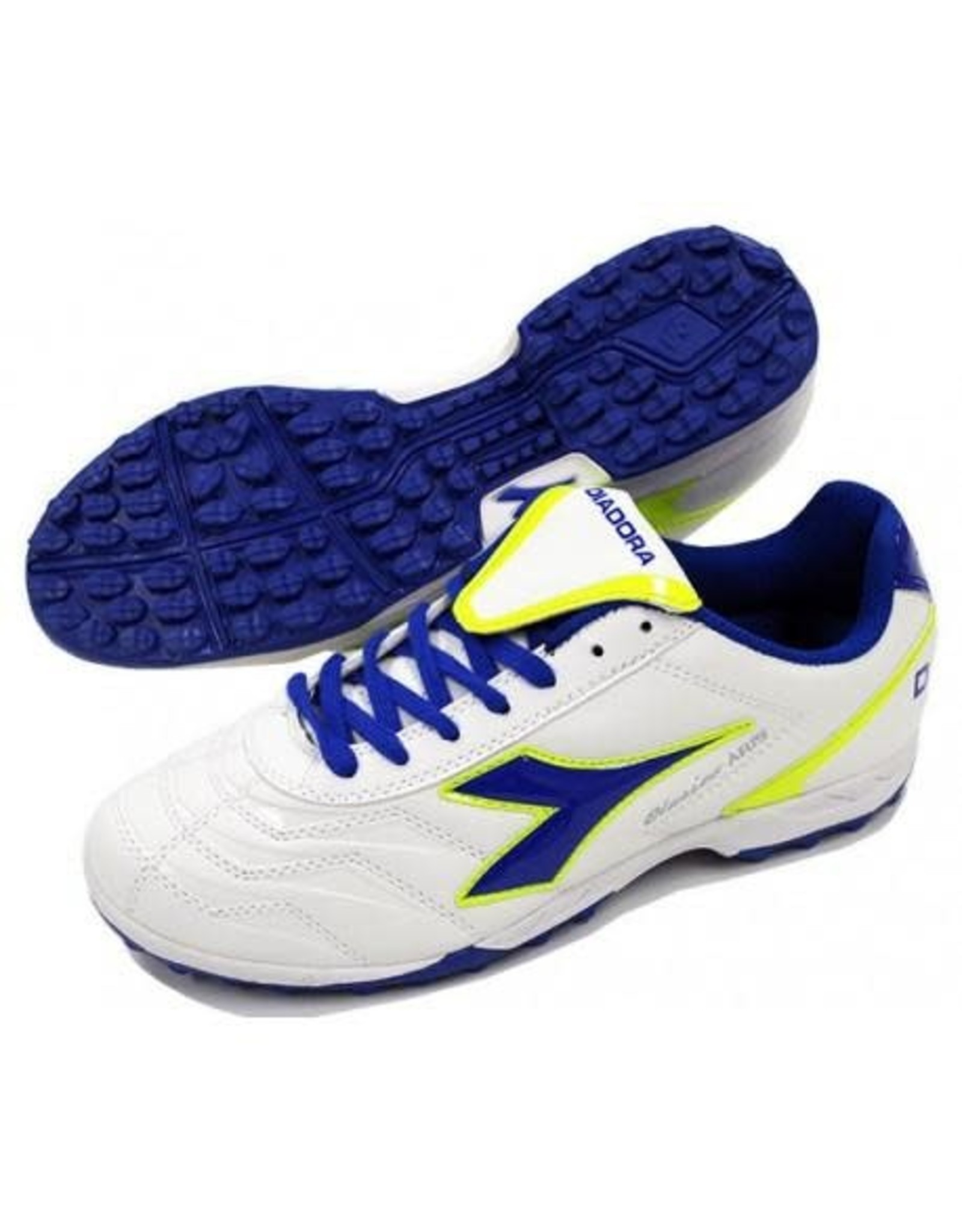 Diadora Clasico Aris TF Junior Shoes (White/SKY-BL)