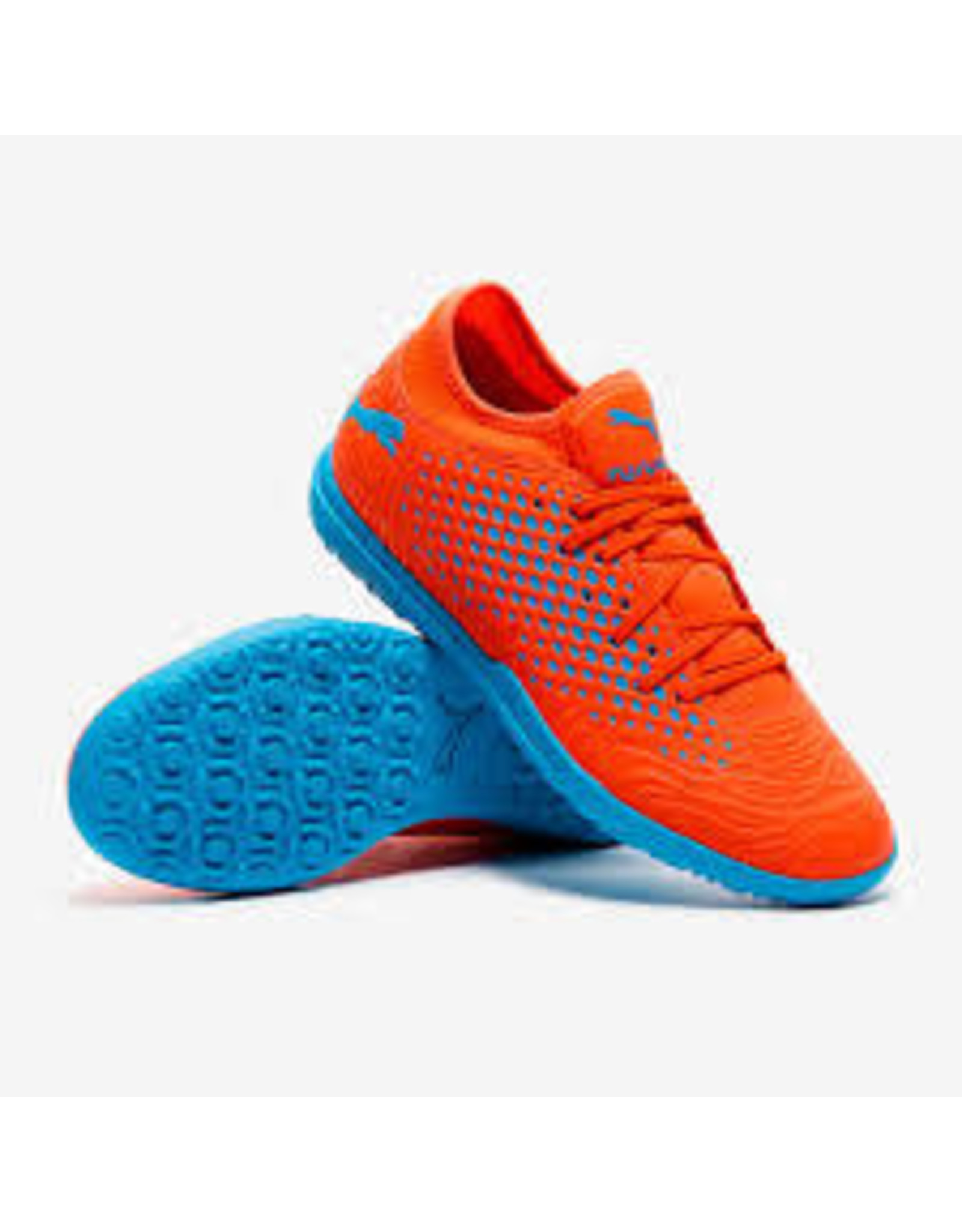 Puma Puma FUTURE 19.4 TT Shoes (Red Blast/Bleu Azur)