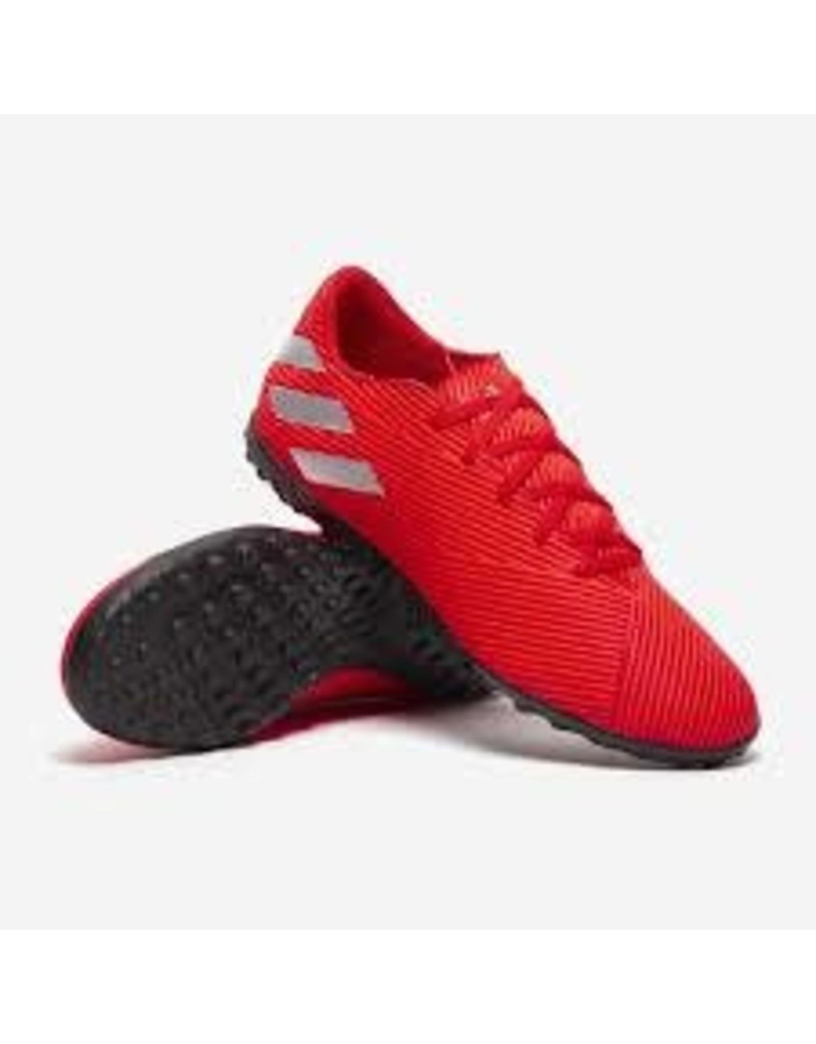 Adidas Adidas NEMEZIZ 19.4 TF Shoes (Active Red/Silver Metallic/Solar Red)
