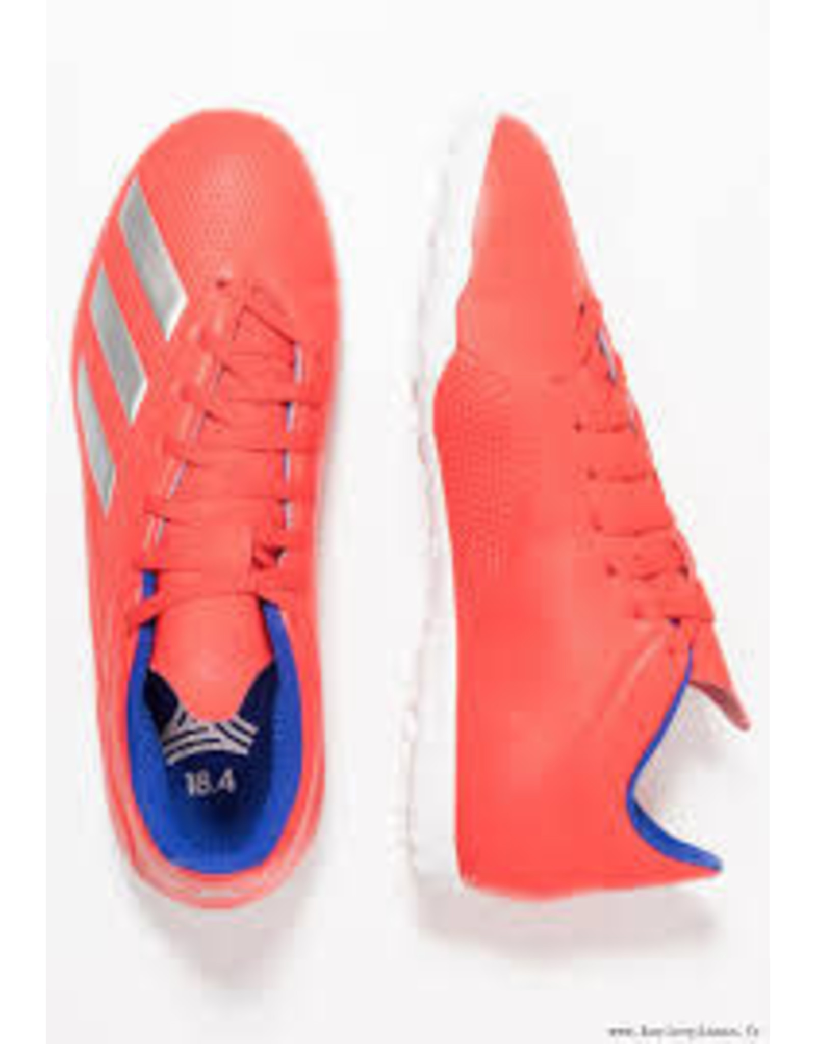 Adidas Adidas X 18.4 TF Shoes (Active Red/Silver Metallic/Bold Blue)