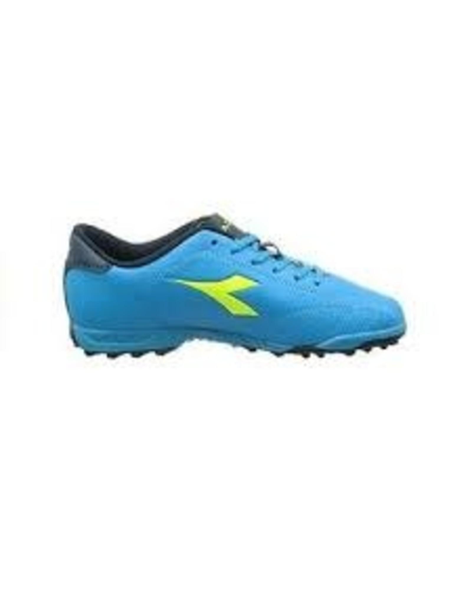 Diadora Diadora 6PLAY TF Shoes (Blue Fluo/Yellow Fluo)