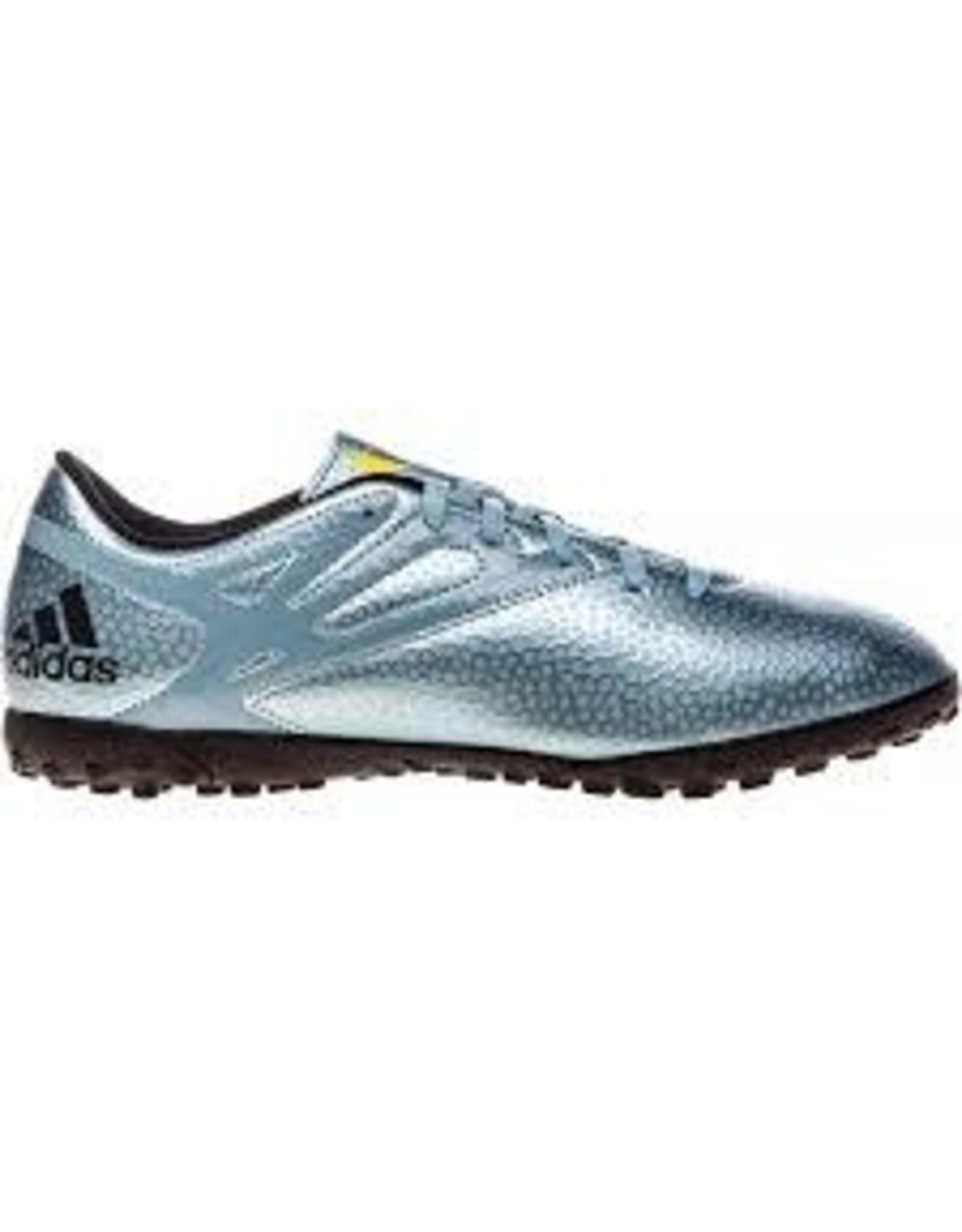 ironía Salvaje Gran Barrera de Coral  Adidas Adidas MESSI 15.4 TF Shoes (Blue/Black) - SoccerPlus