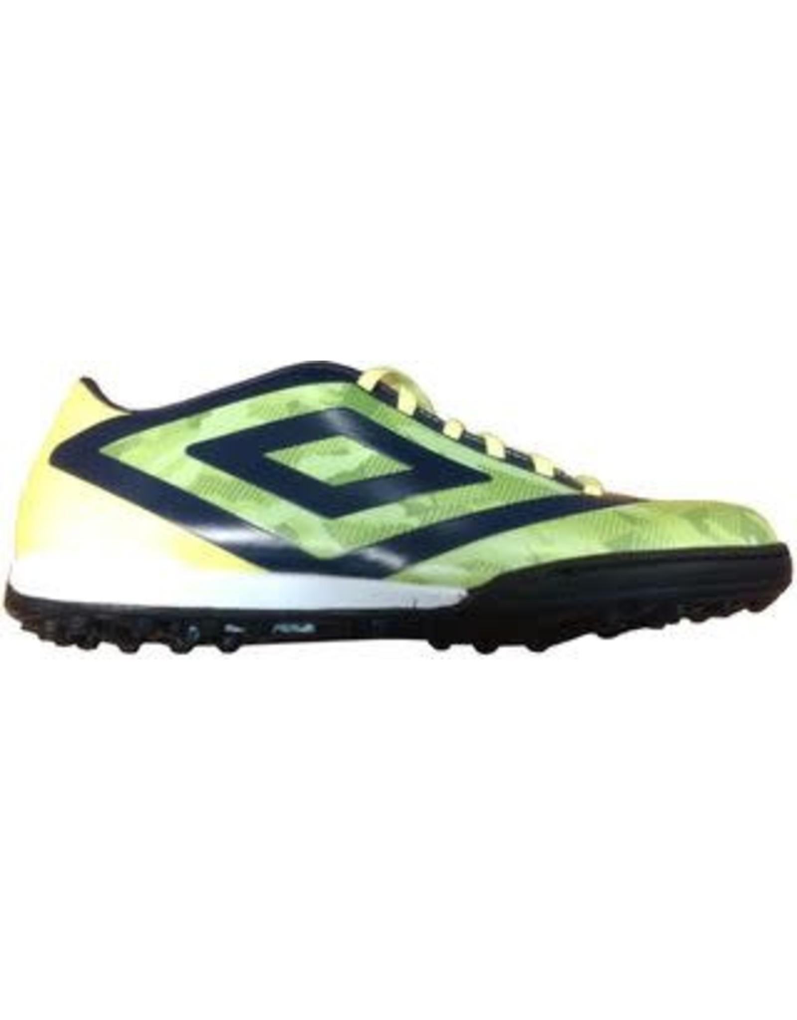 Umbro Umbro Geo Flare Club TF Shoes (Green Gecko/Blackberry/Safety Yellow)