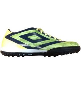 Umbro Umbro Geo Flare Club TF Shoes (Green Gecko/Blackberry/Safety Yellow)