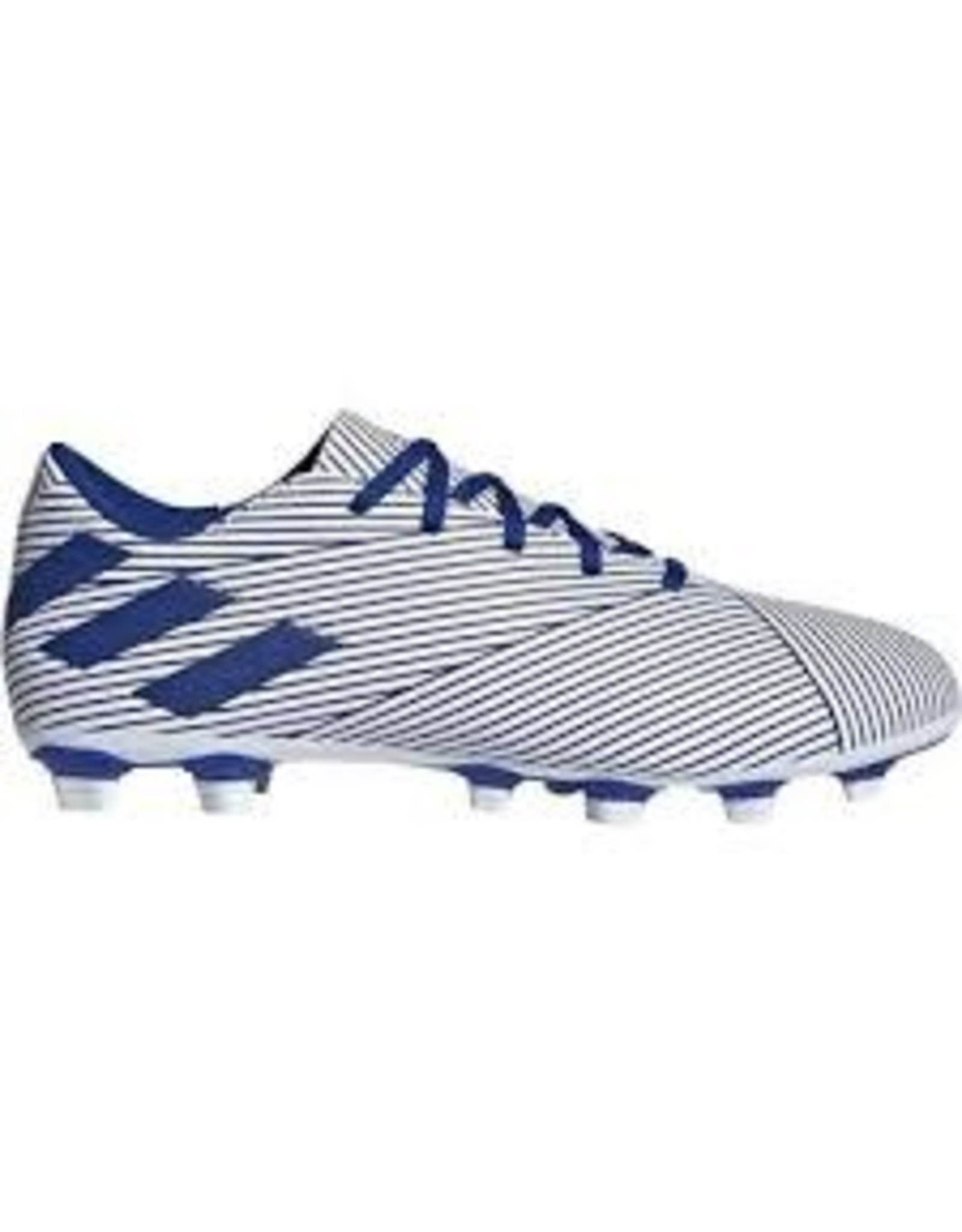 Adidas Adidas NEMEZIZ 19.4 FxG Junior Cleats (FTWWHT/ROYBLU/CBLACK)