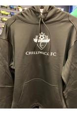 The Authentic T-Shirt Company Black P-Tech Chilliwack FC Hoody