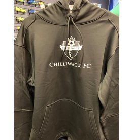 The Authentic T-Shirt Company Black P-Tech Chilliwack FC Hoody