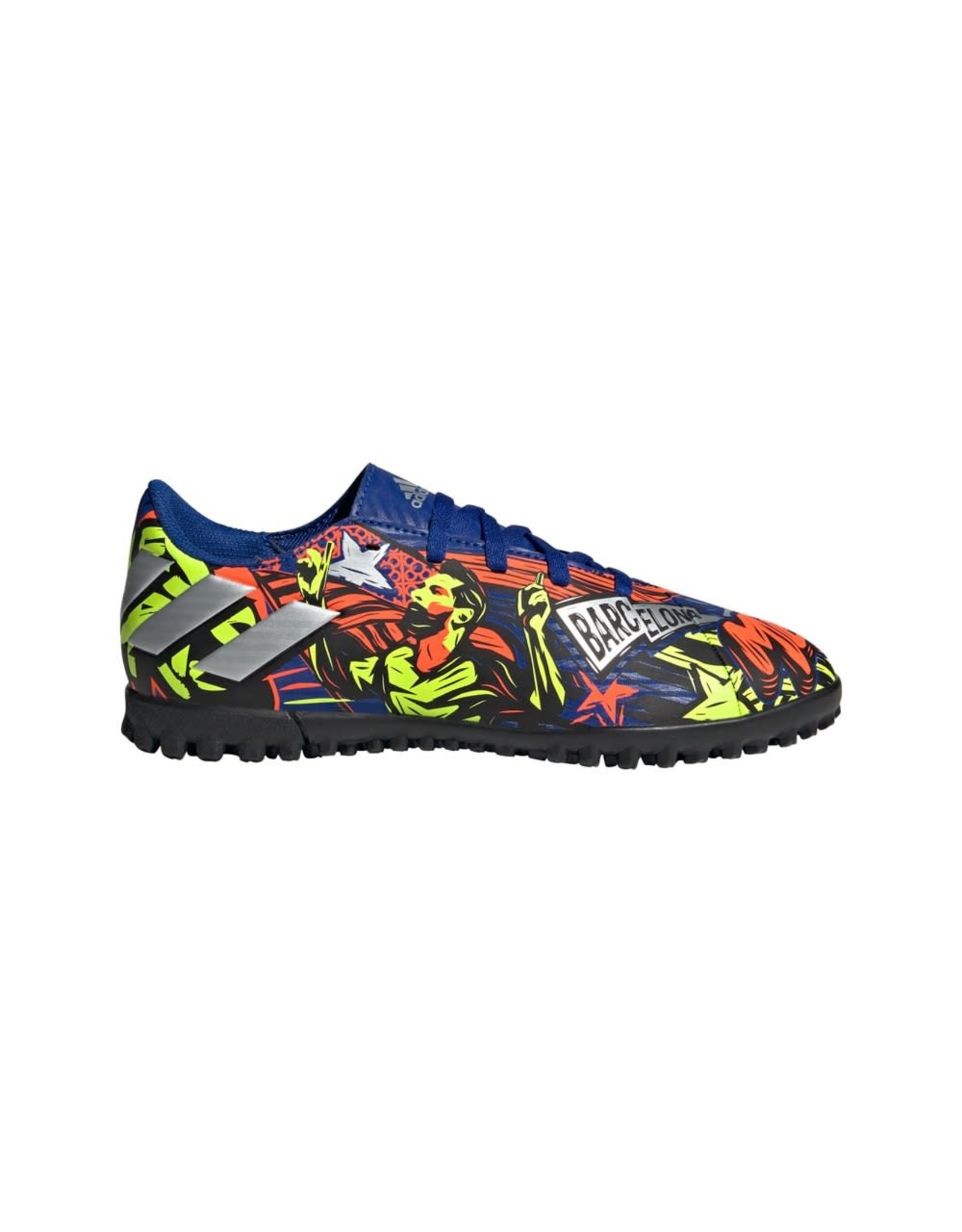 Adidas ADIDAS NEMEZIZ MESSI 19.4 TF J (ROYBLU/SILVMT/SYELLO)