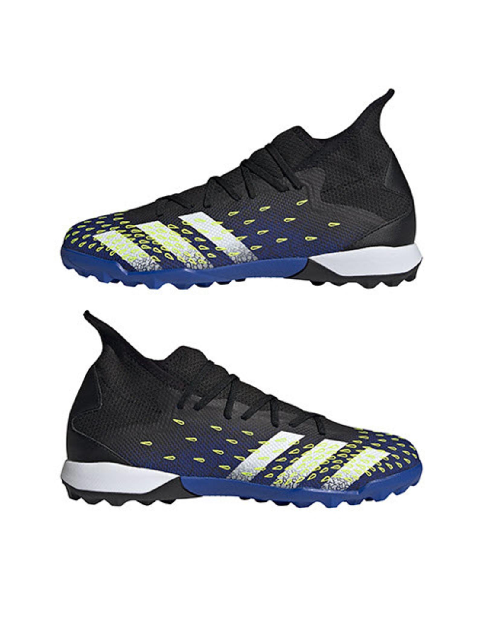 Adidas ADI PREDATOR FREAK .3 TF (CBLACK/FTWWHT/SYELLO)