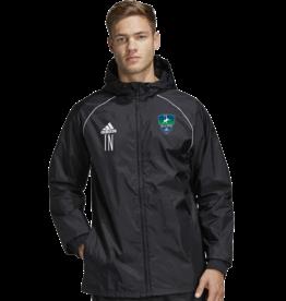 Adidas CFC SKILLS CTR YTH CORE18 RAIN JKT
