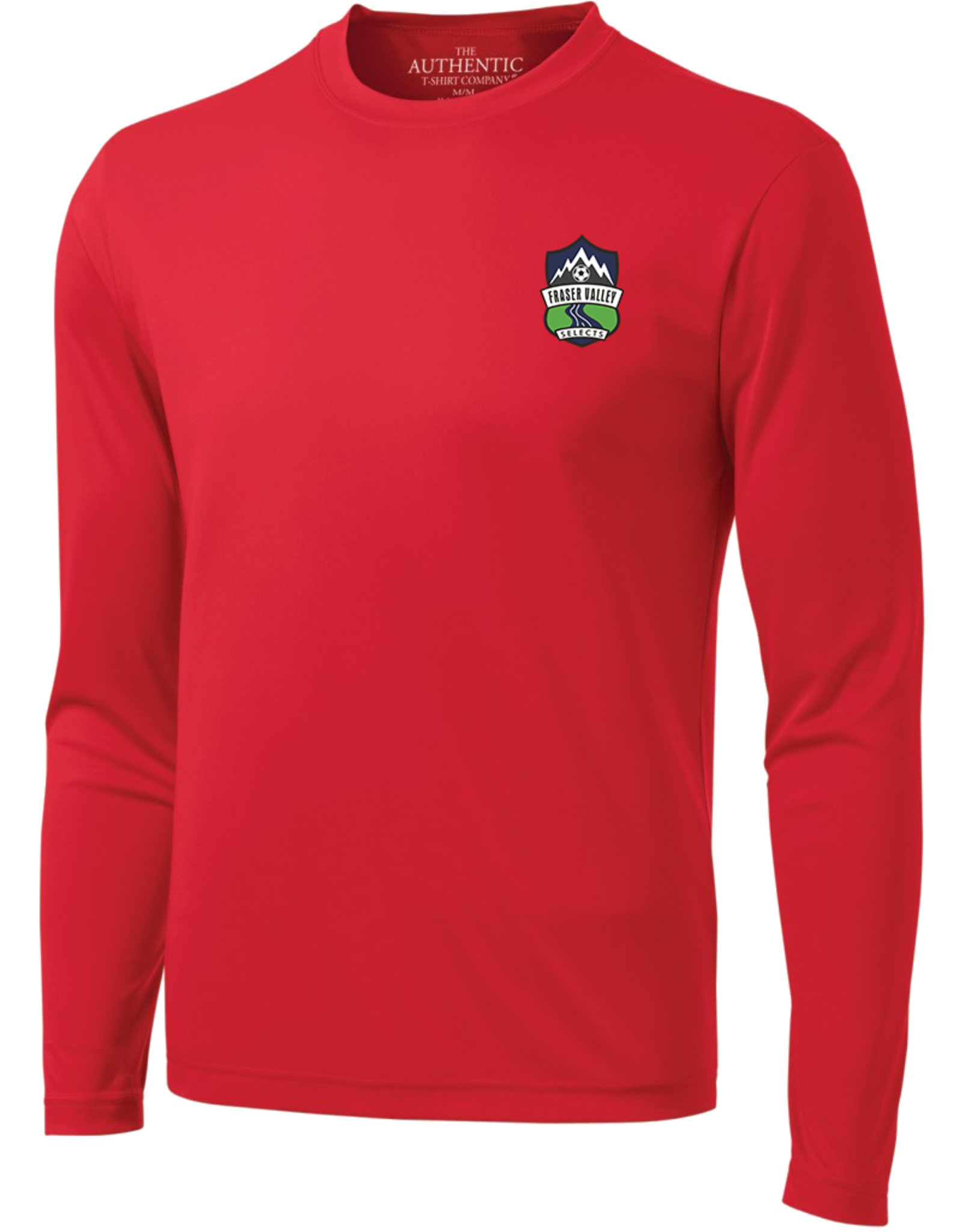 The Authentic T-Shirt Company RED GK LS TRAINING TOP