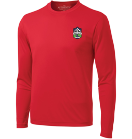 The Authentic T-Shirt Company RED GK LONG SLEEVE TRAINING TOP