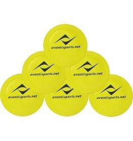 Avanti FLAT DISC MARKER (set of 6)