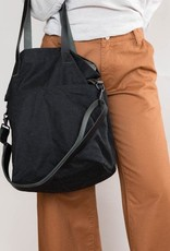 Quince Quince Crossbody Waxed Canvas Project Tote