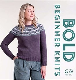 Kate Davies Designs Bold Beginner Knits